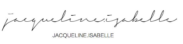 jacquelineisabelle